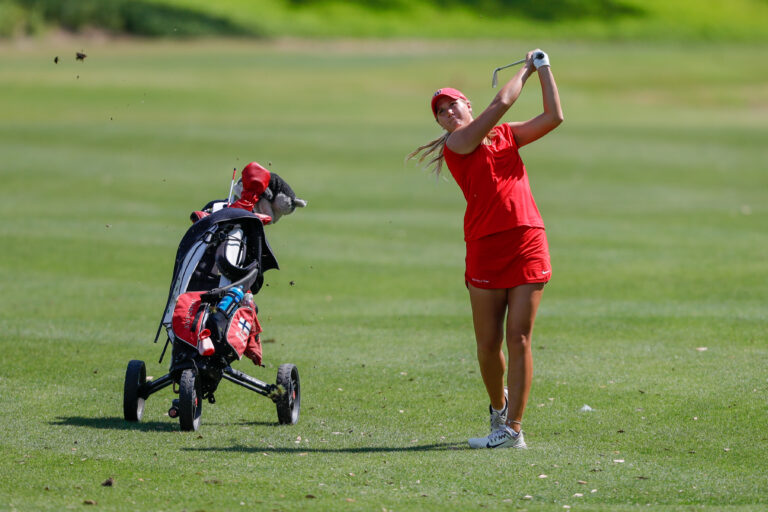 Mar 11, 2019; Windermere, FL, USA; University of Tampa Women's Golf during the Peggy Kirk Bell Invitational at Golden Bear Club, Keene's Point. Mandatory Credit: Mike Watters