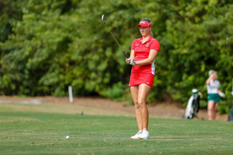 Mar 10, 2020; Windermere, FL, USA; University of Tampa Women's Golf during the Peggy Kirk Bell Invitational at Golden Bear Club, Keene's Point. Mandatory Credit: Mike Watters